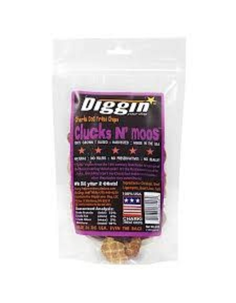 DIGGIN YOUR DOG DIGGIN YOUR DOG CLUCK N MOO 6OZ