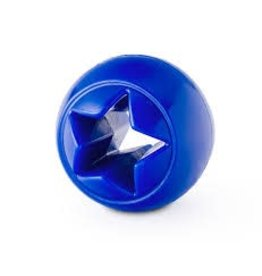 PLANET DOG PLANET DOG NOOK BALL BLUE STAR