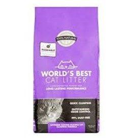 WORLDS BEST CAT LITTER WORLDS BEST CAT LITTER LAVENDER SCENTED MULTI CAT 14#