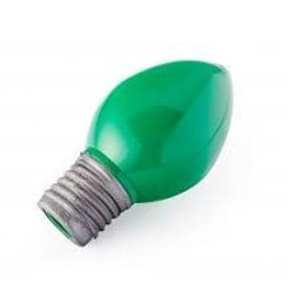 PLANET DOG PLANET DOG BULB GREEN 4.25IN
