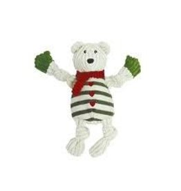 HUGGLE HOUNDS HUGGLEHOUNDS HOLIDAY POLAR BEAR LG