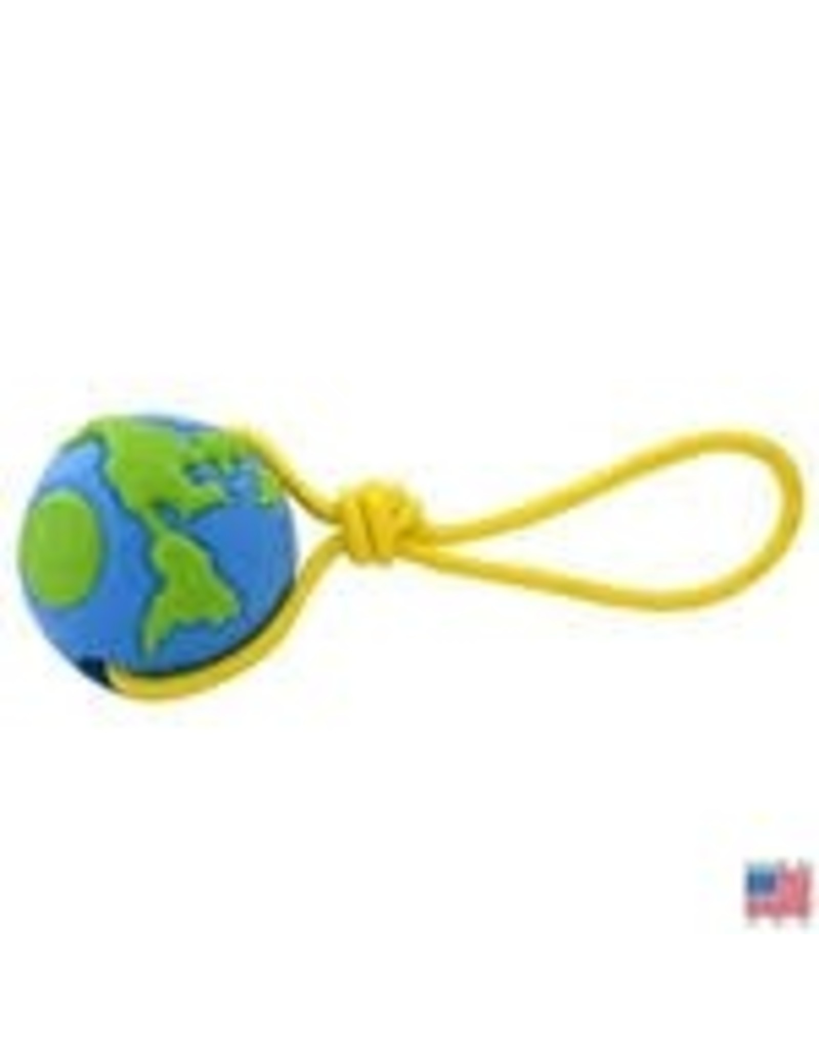 PLANET DOG PLANET DOG EARTH BALL ROPE MED