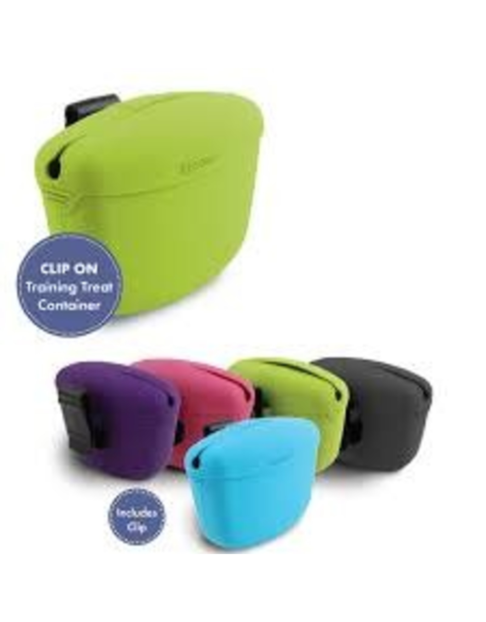 DEXAS DEXAS TREAT POUCH CONTAINER GREEN
