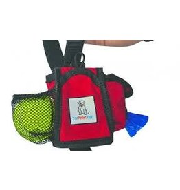 BAY DOG TREAT POUCH RED