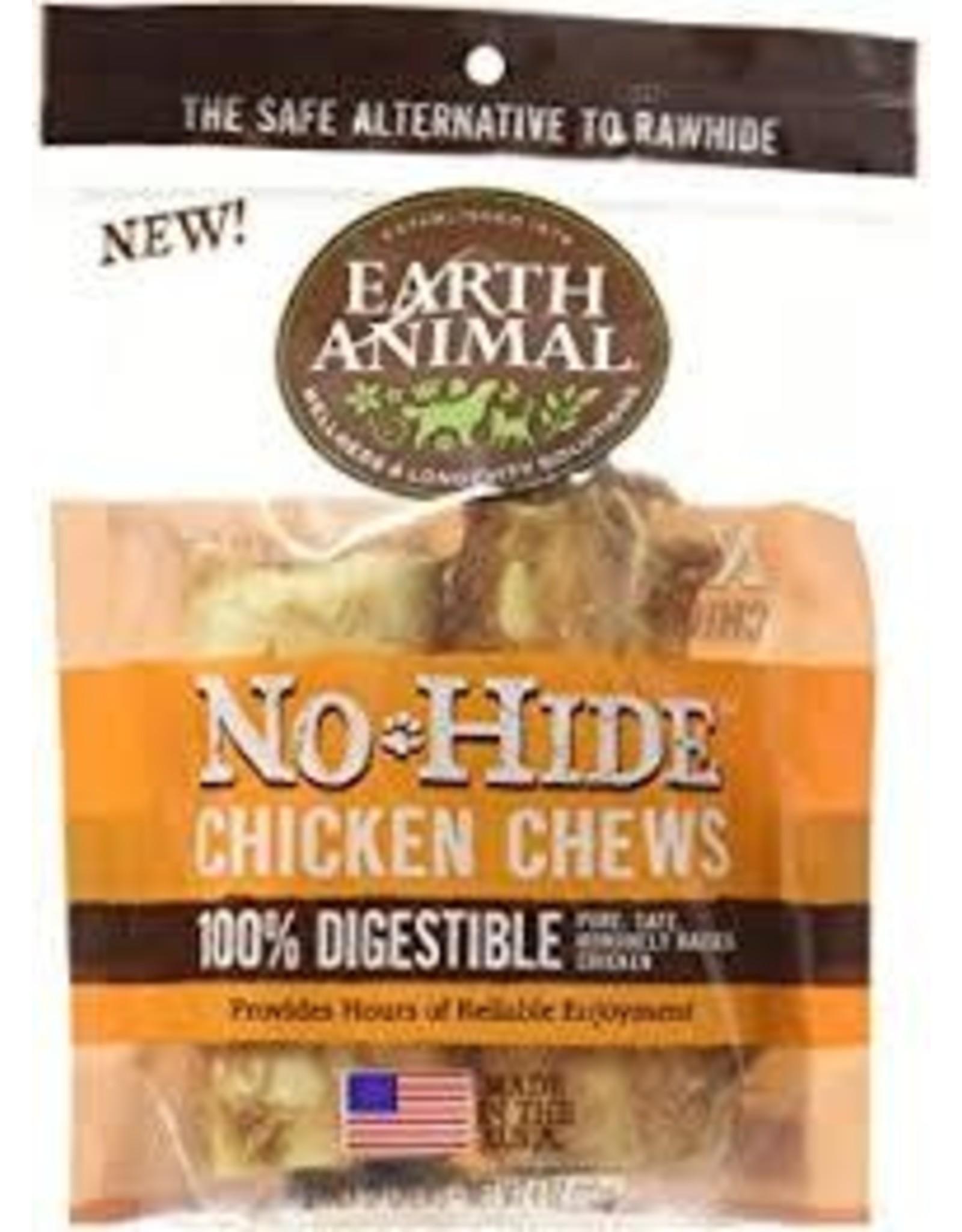"""EARTH ANIMAL EARTH ANIMAL  NO HIDE CKN 4"""" 2PK"""