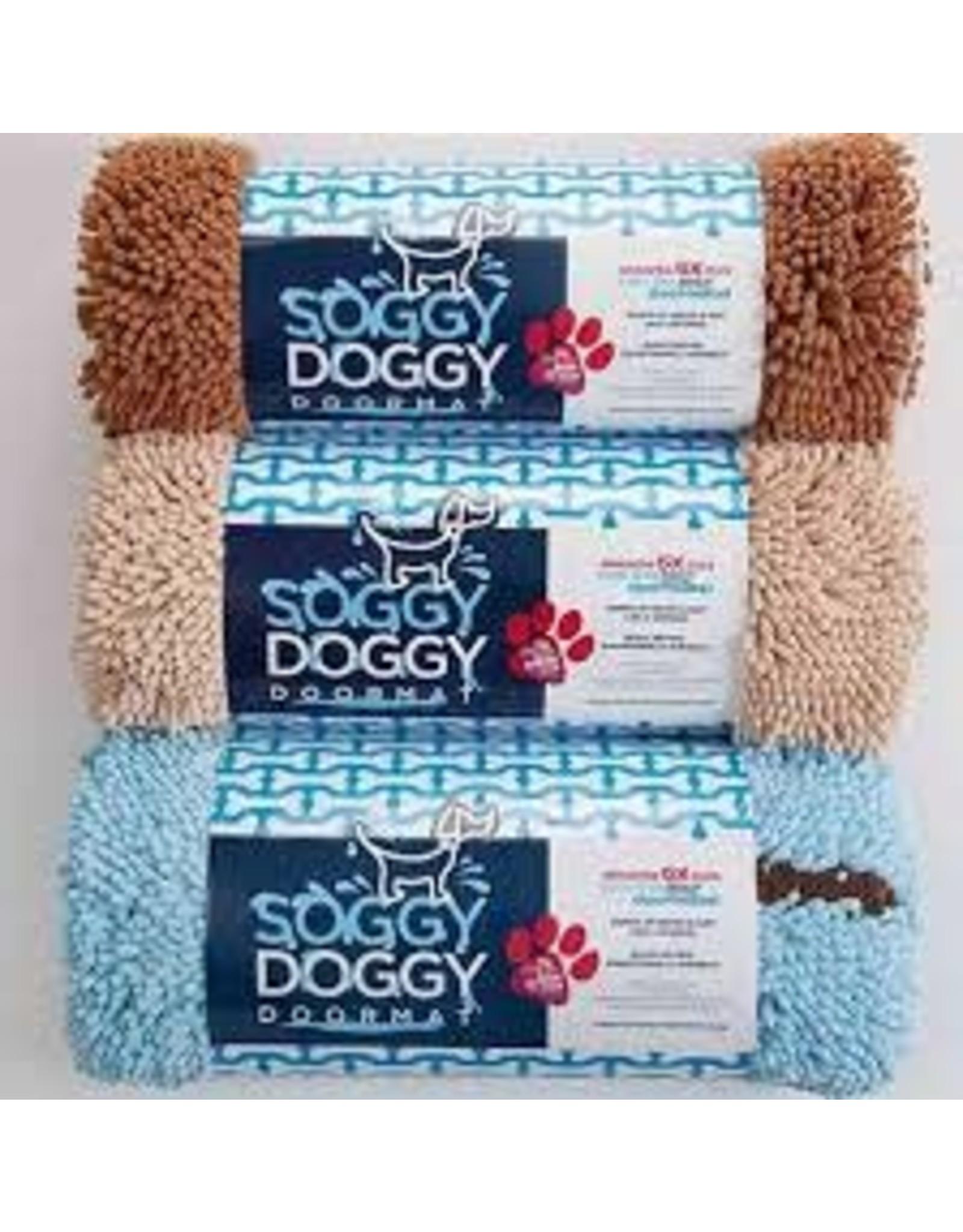 SOGGY DOGGY SOGGY DOGGY DOORMAT LIGHT BLUE 26X36