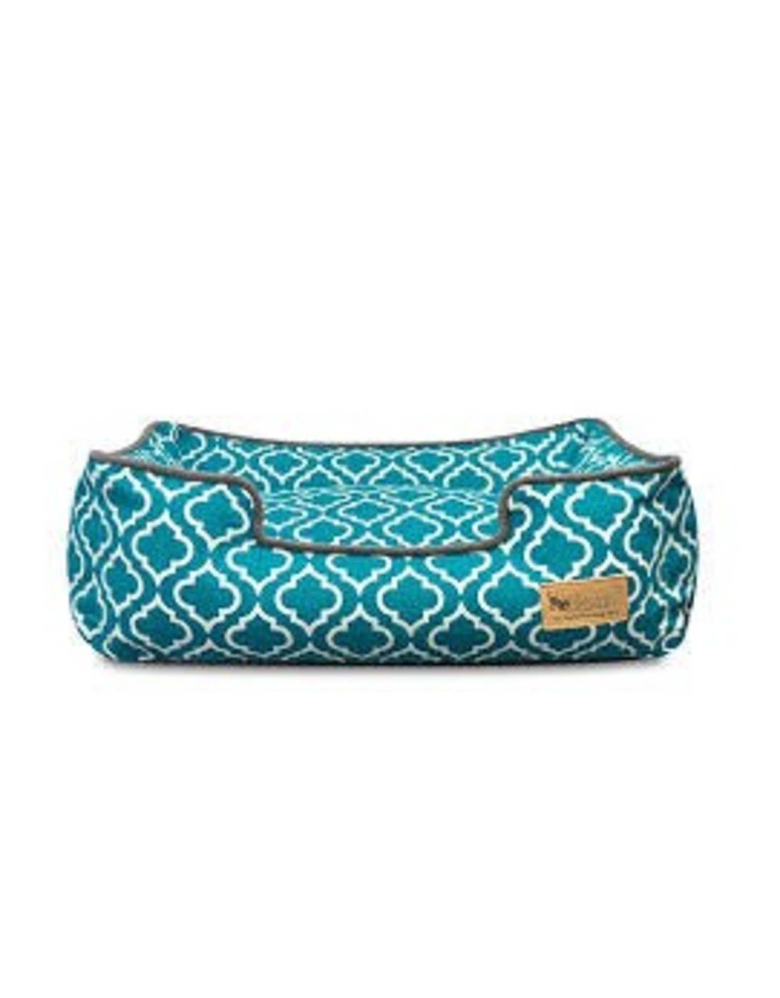 PLAY PLAY BED MORROCAN TEAL MED