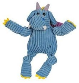 HUGGLE HOUNDS HUGGLEHOUNDS DRAGON PUFF BLUE LG