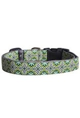MOLLYMUTT MOLLY MUTT COLLAR LEAVES OF GRASS 10-14IN