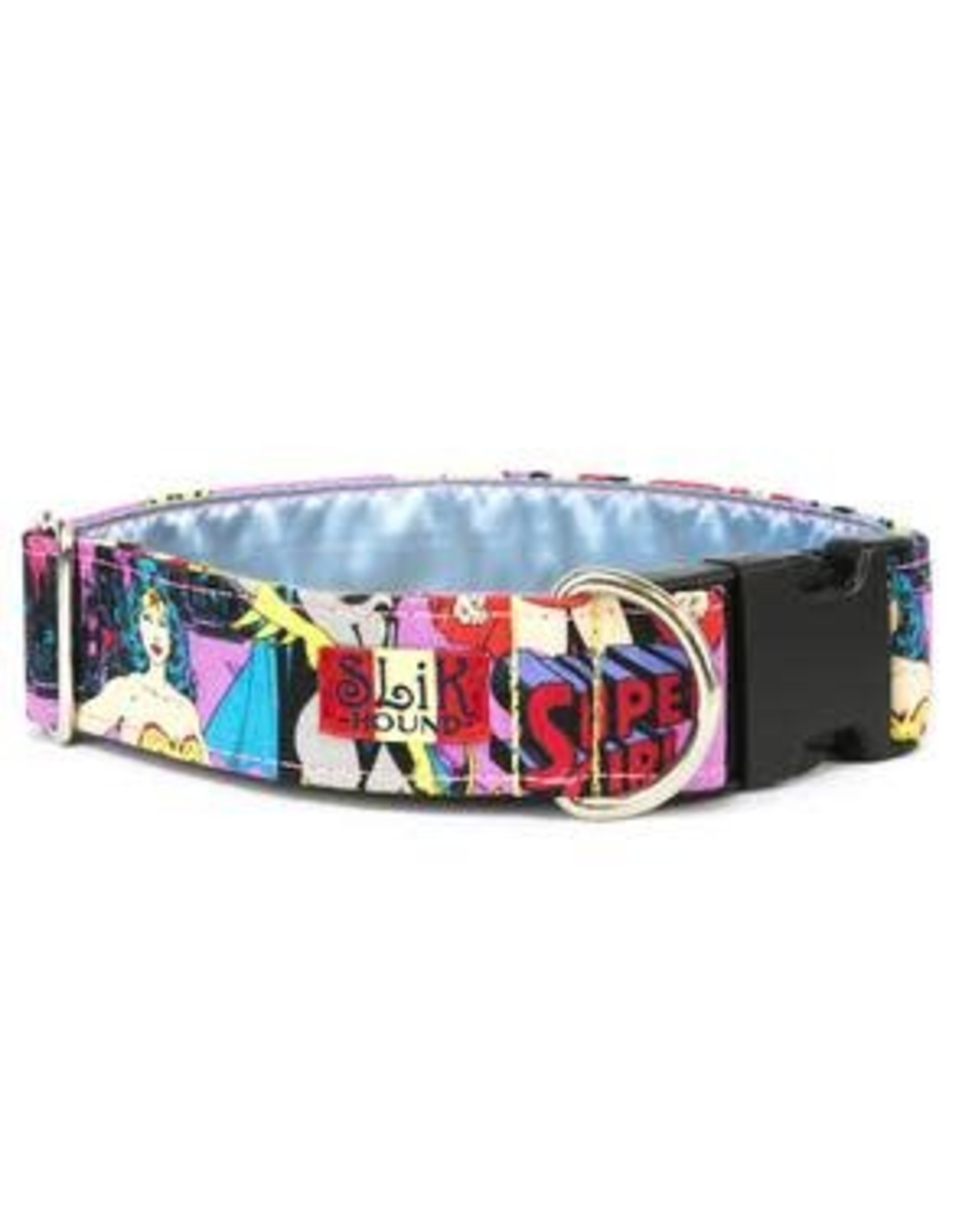 SLIK HOUND SLIK HOUND COLLAR WONDER WOMAN 6-10IN .5W