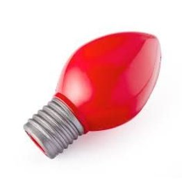 PLANET DOG PLANET DOG BULB RED 6IN