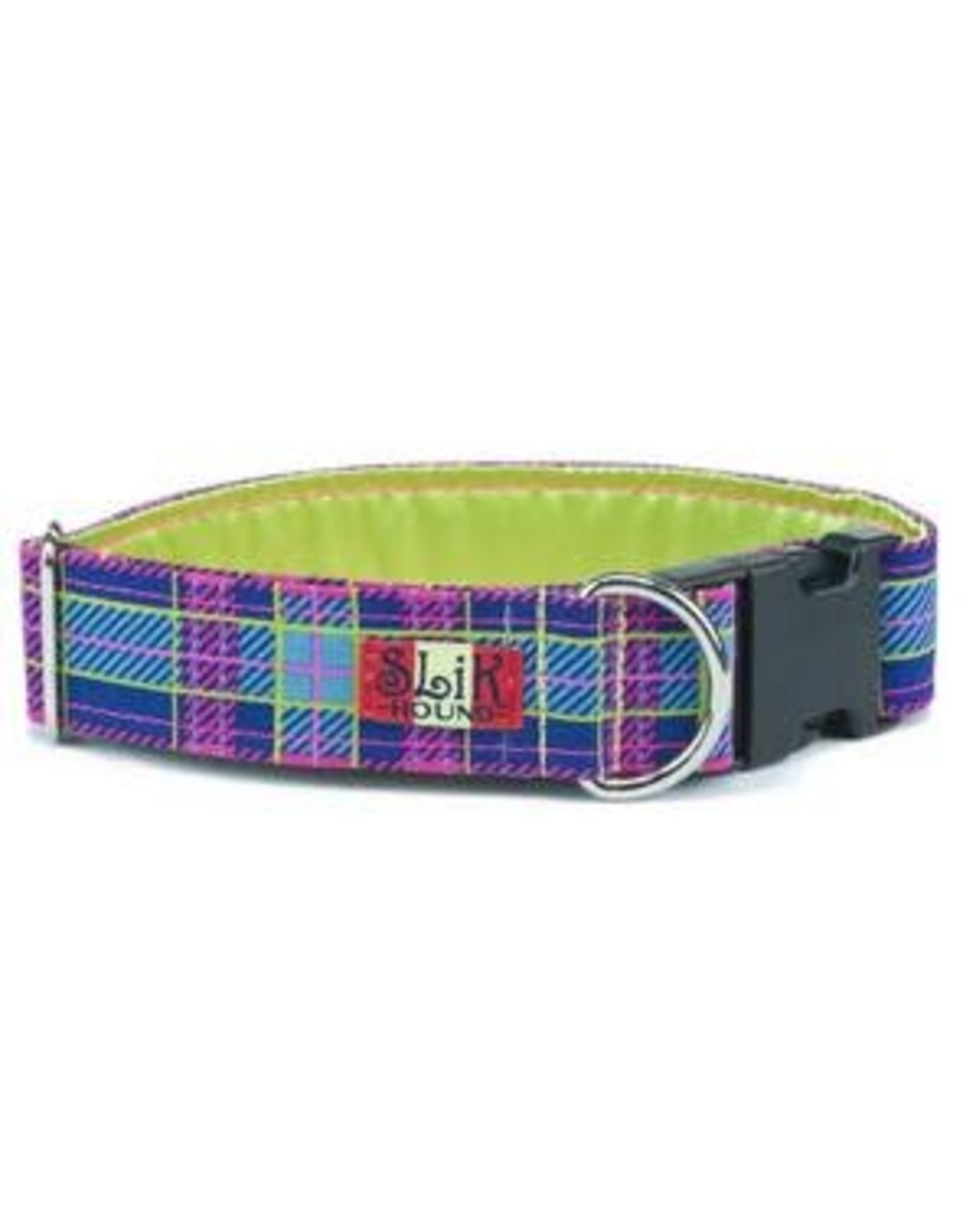 SLIK HOUND SLIK HOUND PRINCESS PLAID COLLAR 6-10 .5W