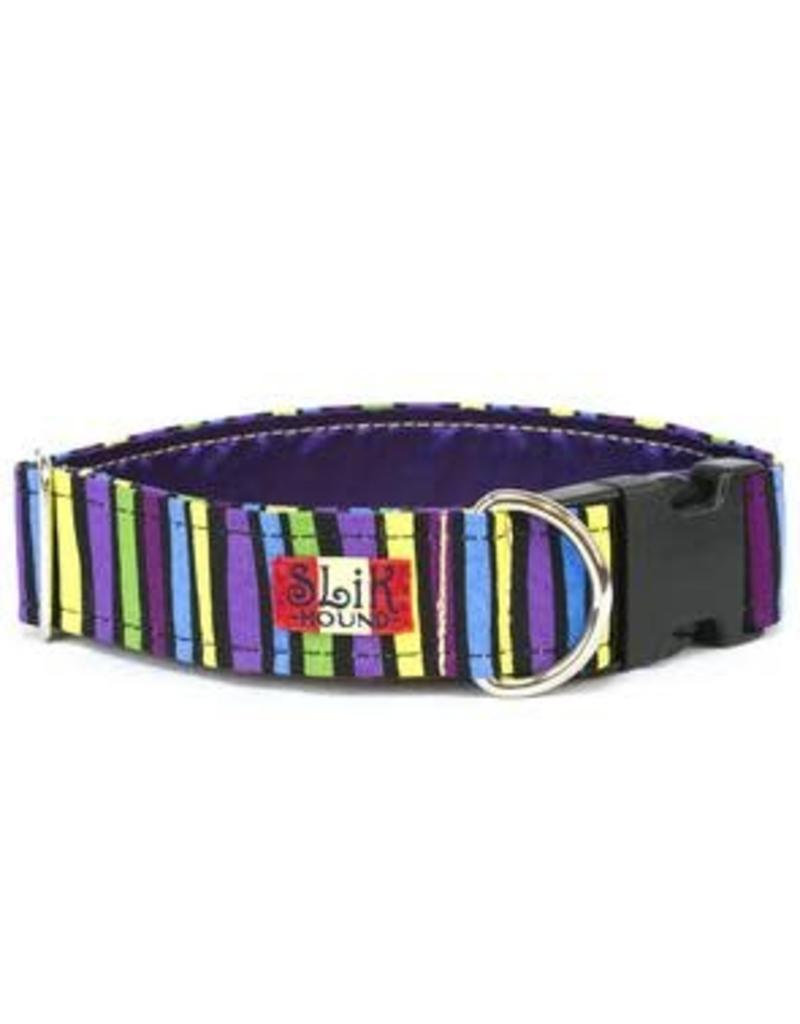 Slik Hound Slik Hound Beatles Stripes Collar 10 16in 75w Dog