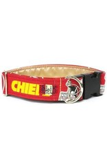 SLIK HOUND SLIK HOUND KC CHIEFS COLLAR 10-16IN 1W