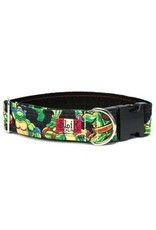 SLIK HOUND SLIK HOUND NINJA TURTLE TIME COLLAR 13-23IN 1W