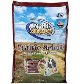 NUTRI SOURCE NUTRISOURCE GRAIN FREE PRAIRIE SELECT 15#
