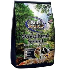 NUTRI SOURCE NUTRI SOURCE GRAIN FREE WOODLANDS 15#
