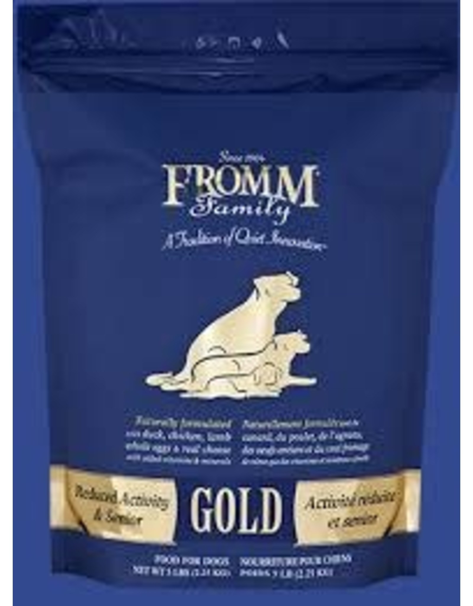 FROMM FROMM DOG SENIOR GOLD 33#