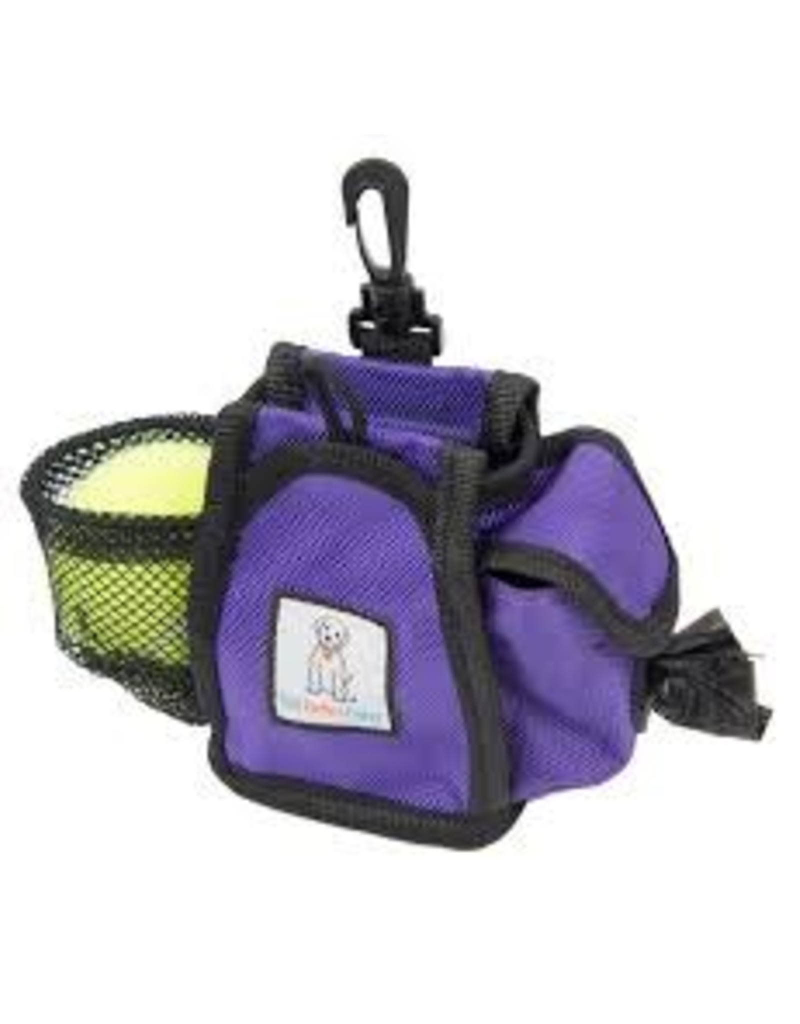 BAY DOG TREAT POUCH PURPLE