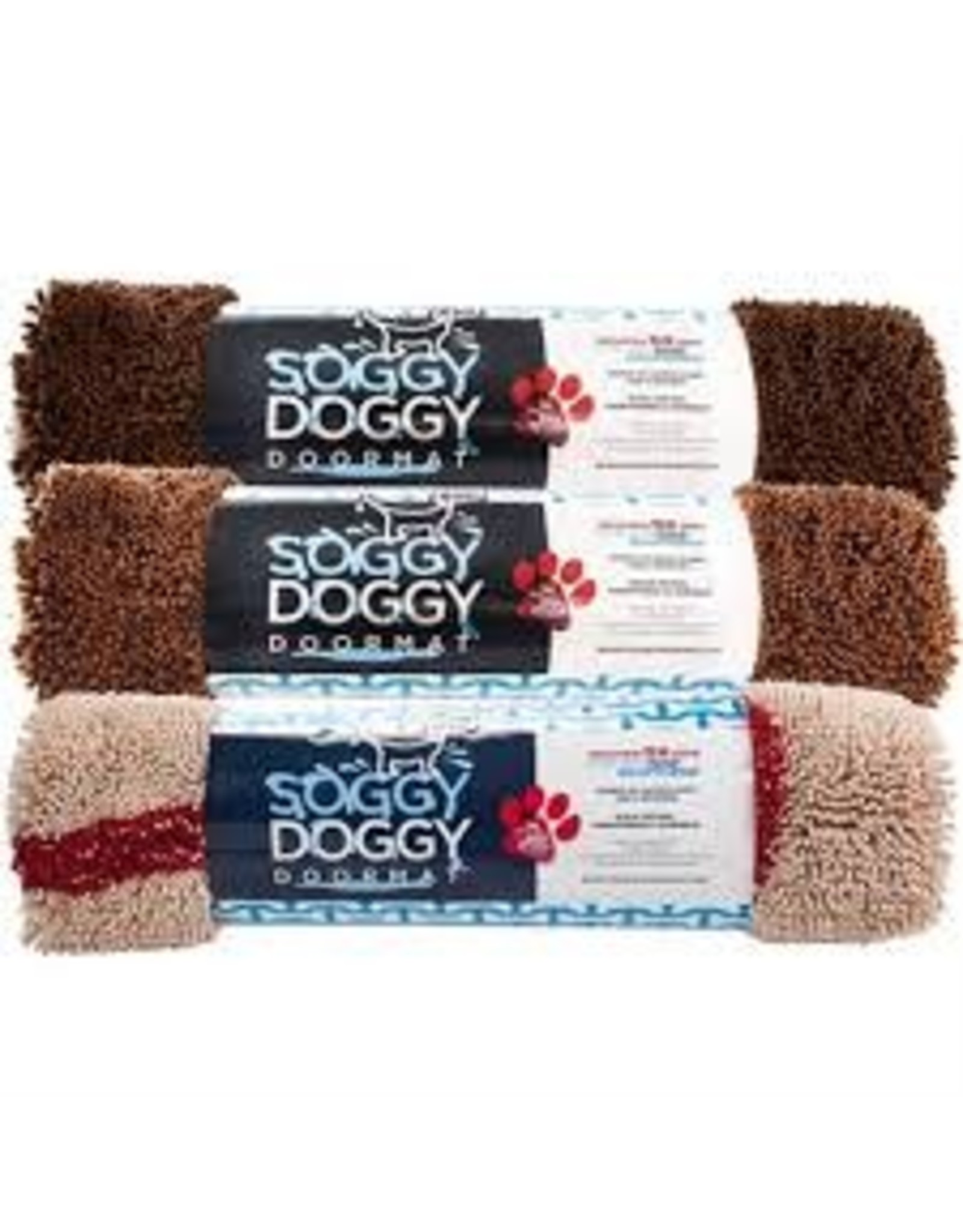 SOGGY DOGGY SOGGY DOGGY DOORMAT CHOCOLATE 36X60