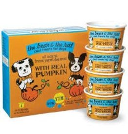 THE BEAR AND THE RAT THE BEAR & THE RAT PUMPKIN, 3.5 OZ. CUPS/PK OF 4