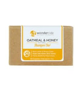 WONDERCIDE WONDERCIDE OATMEAL & HONEY SHAMPOO BAR