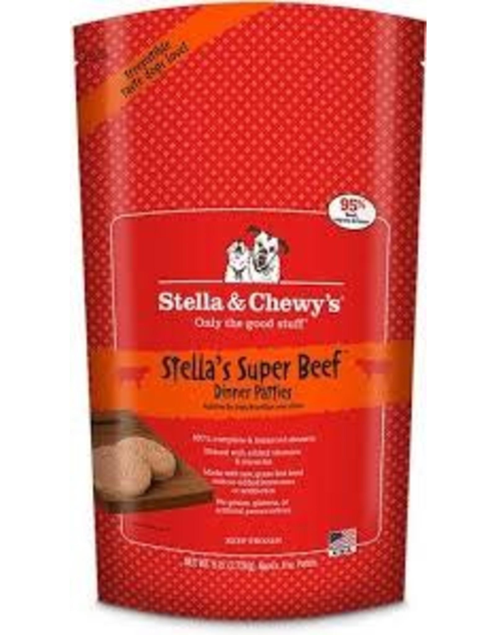 STELLA & CHEWY'S STELLA & CHEWY'S FROZEN RAW SUPER BEEF 6#