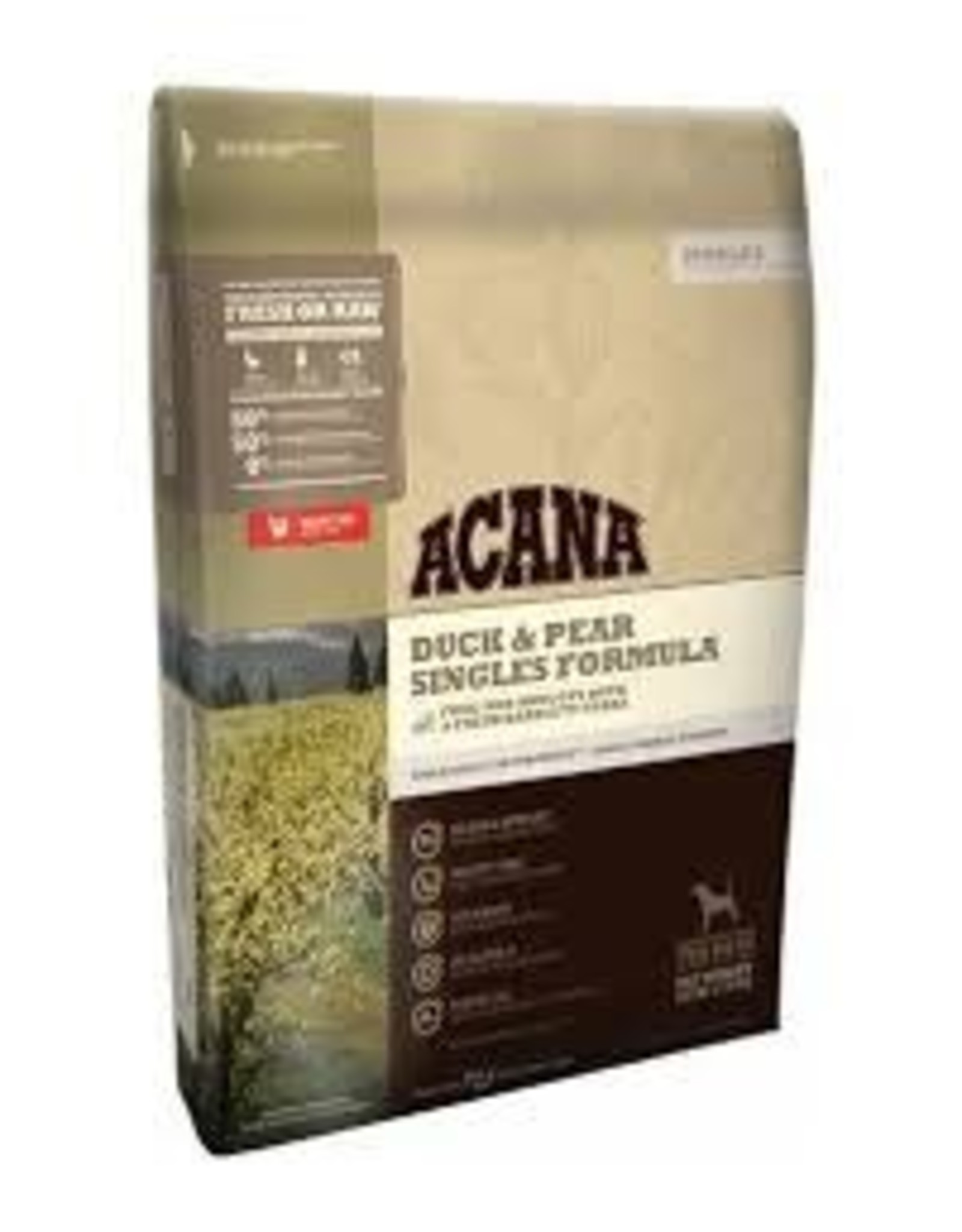 ACANA ACANA  SINGLSE DUCK PEAR 12OZ