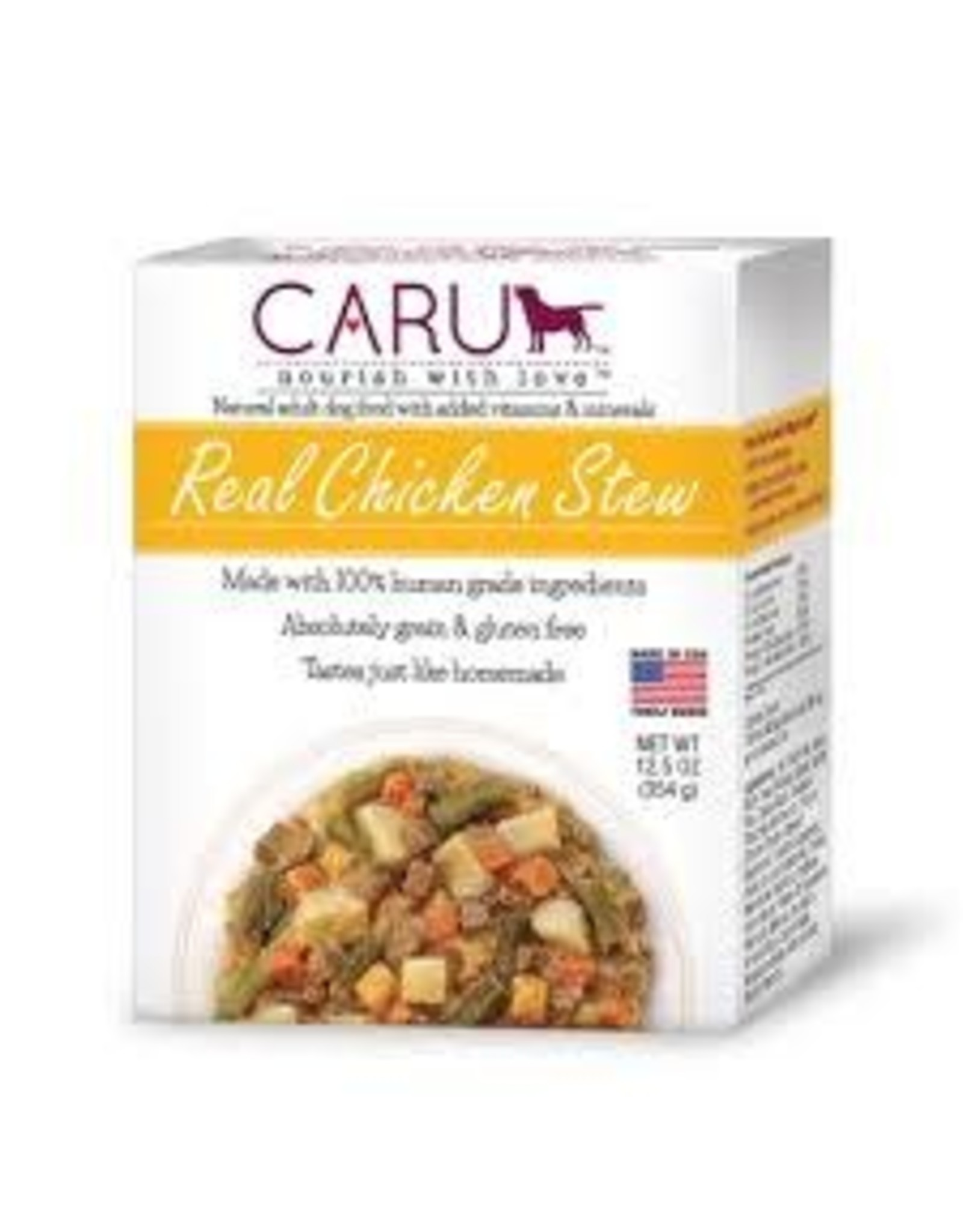 CARU PET FOOD CARU STEW REAL CHICKEN 12.5OZ