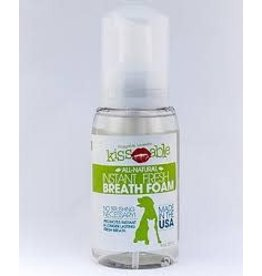 DOG FOR DOG KISSABLE FRESH BREATH FOAM 8OZ
