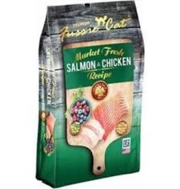 FUSSIE CAT FUSSIE CAT FRESH SALMON & CHICKEN 4#