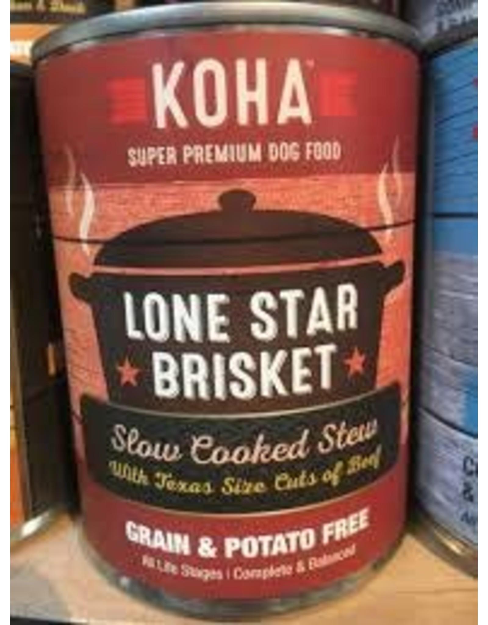 KOHA GRAIN FREE STEW LONE STAR 12.7OZ