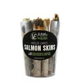 VITAL ESSENTIALS VITAL ESSENTIALS FREEZE DRIED SALMON SKINS