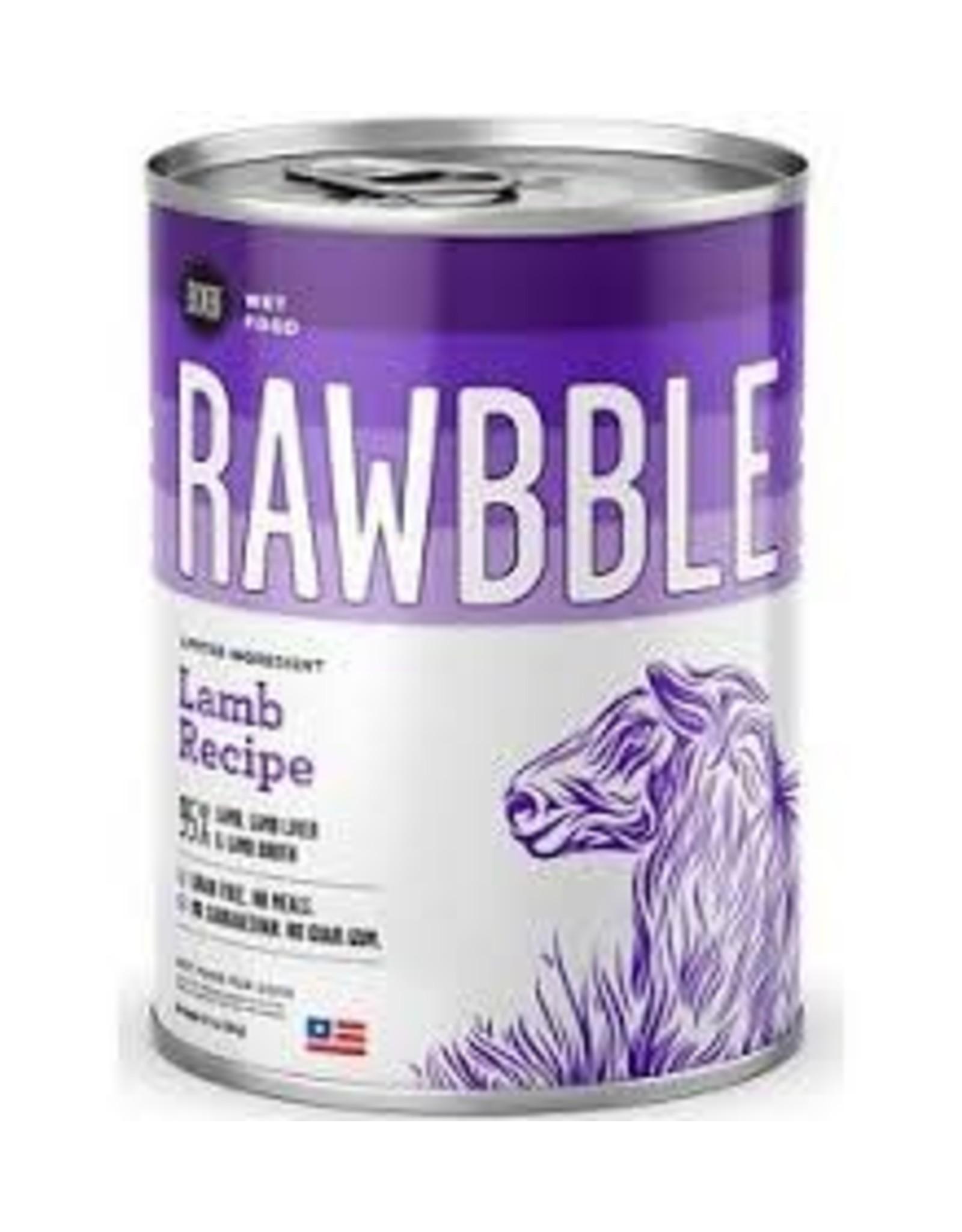 BIXBI & RAWBBLE RAWBBLE LAMB RECIPE 12.5 OZ