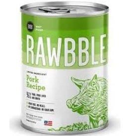 BIXBI & RAWBBLE RAWBBLE PORK RECIPE 12.5 OZ