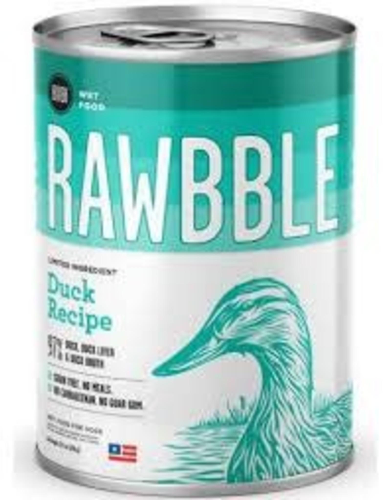 BIXBI & RAWBBLE RAWBBLE DUCK RECIPE 12.5OZ