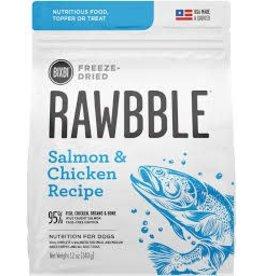 BIXBI & RAWBBLE RAWBBLE FREEZE DRIED SALMON & CHICKEN RECIPE 4.5 OZ