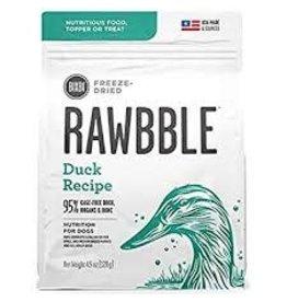 BIXBI & RAWBBLE RAWBBLE FREEZE DRIED DUCK RECIPE 4.5OZ