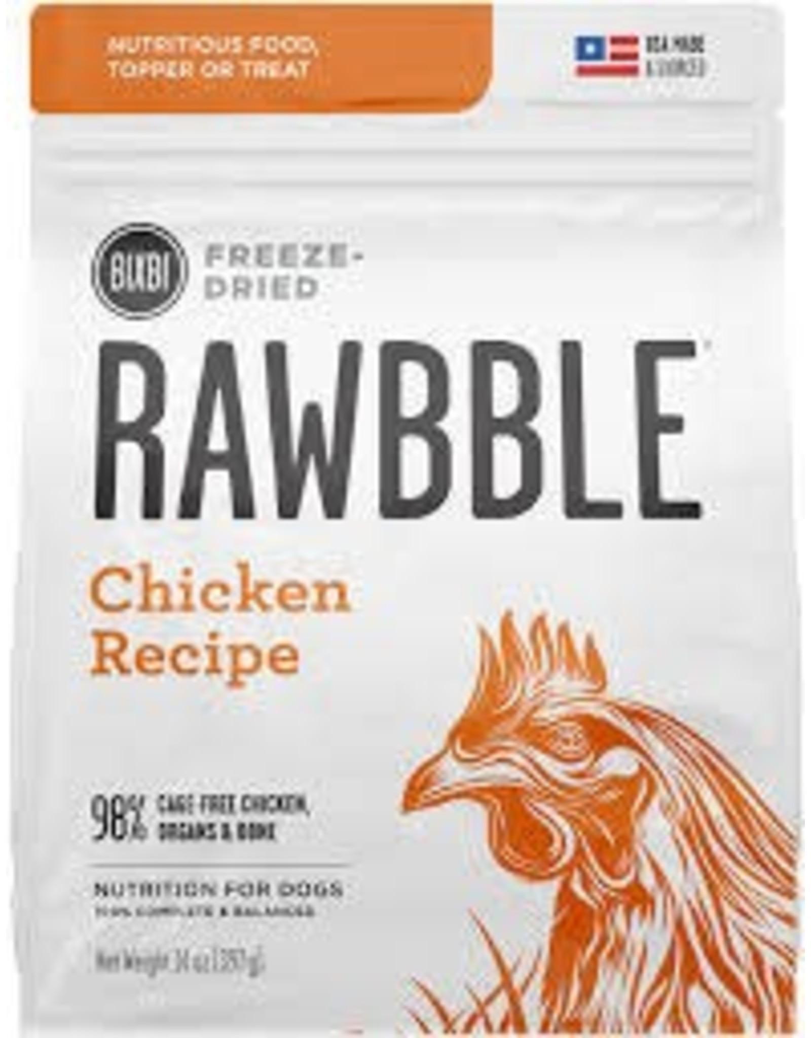BIXBI & RAWBBLE RAWBBLE FREEZE DRIED CHICKEN RECIPE 14OZ