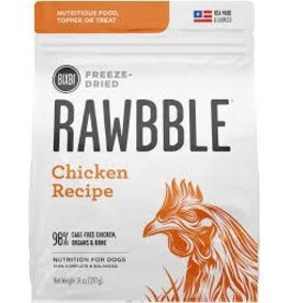 BIXBI & RAWBBLE RAWBBLE FREEZE DRIED CHICKEN RECIPE 14OZ
