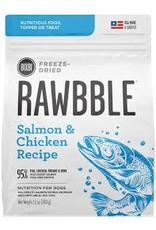 BIXBI & RAWBBLE RAWBBLE FREEZE DRIED SALMON & CHICKEN RECIPE 12OZ