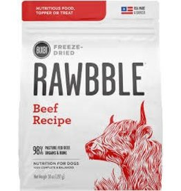 BIXBI & RAWBBLE RAWBBLE FREEZE DRIED BEEF RECIPE 30OZ