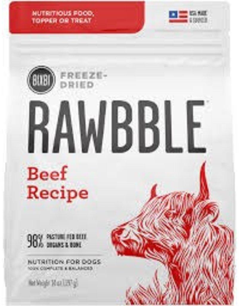 BIXBI & RAWBBLE RAWBBLE FREEZE DRIED BEEF RECIPE 30OZ