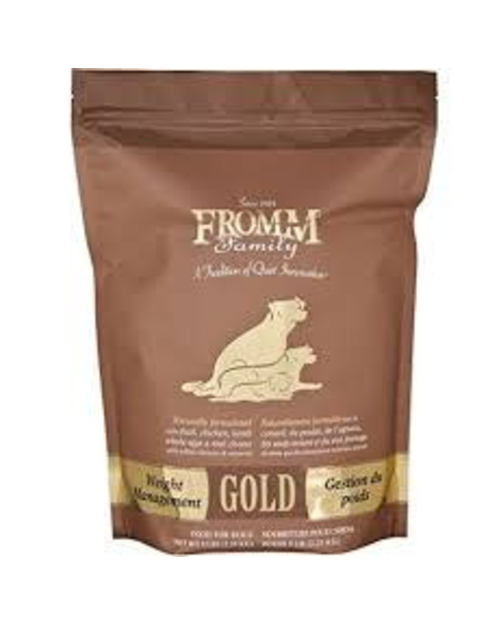 FROMM FROMM GOLD WEIGHT MGMT 5#