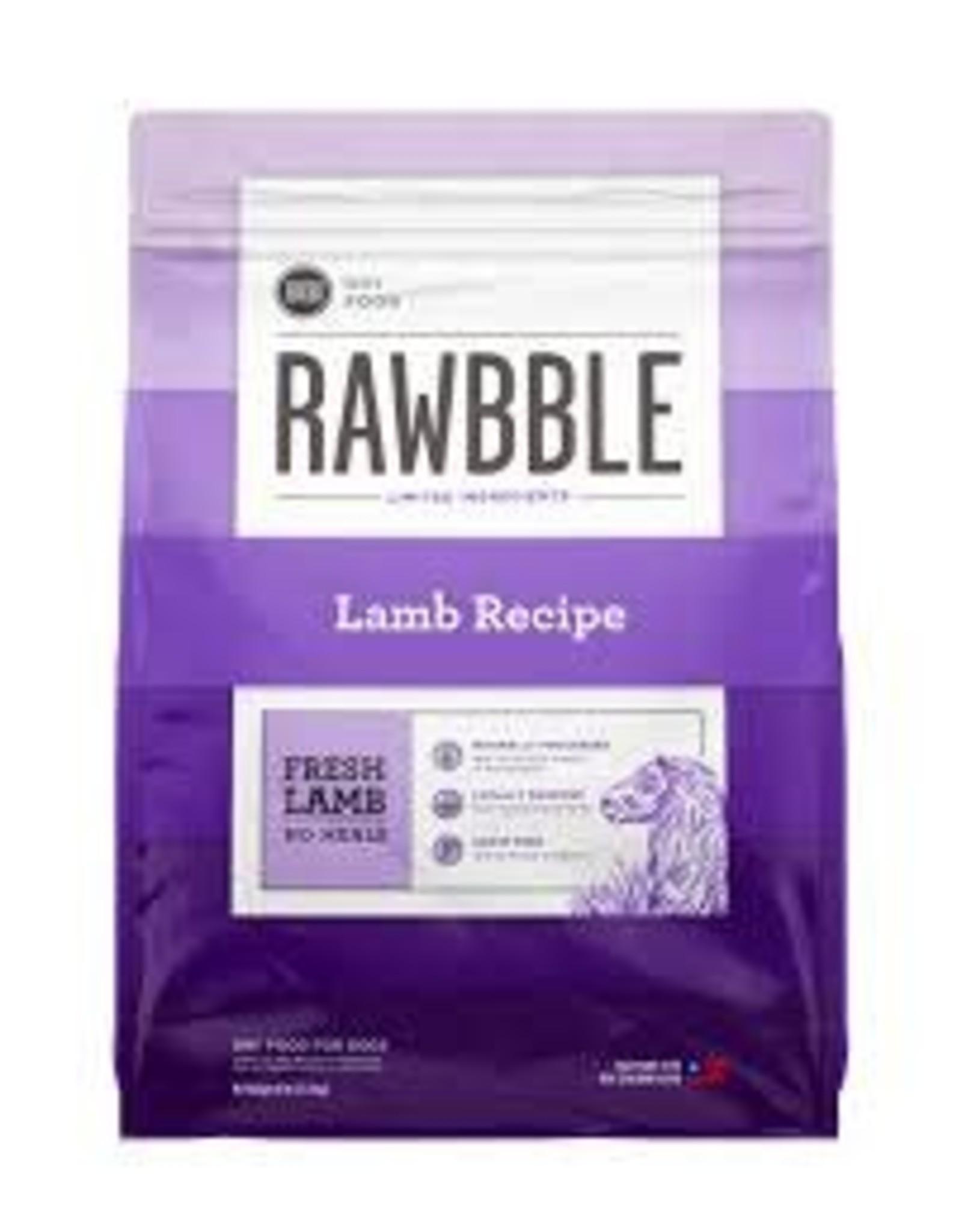 BIXBI & RAWBBLE RAWBBLE LAMB RECIPE 10OZ