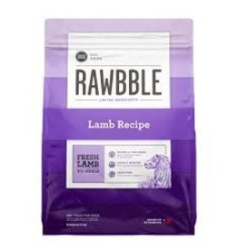 BIXBI & RAWBBLE RAWBBLE LAMB RECIPE 10OZ