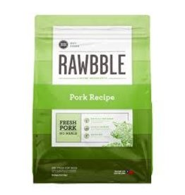 BIXBI & RAWBBLE RAWBBLE PORK RECIPE 10OZ