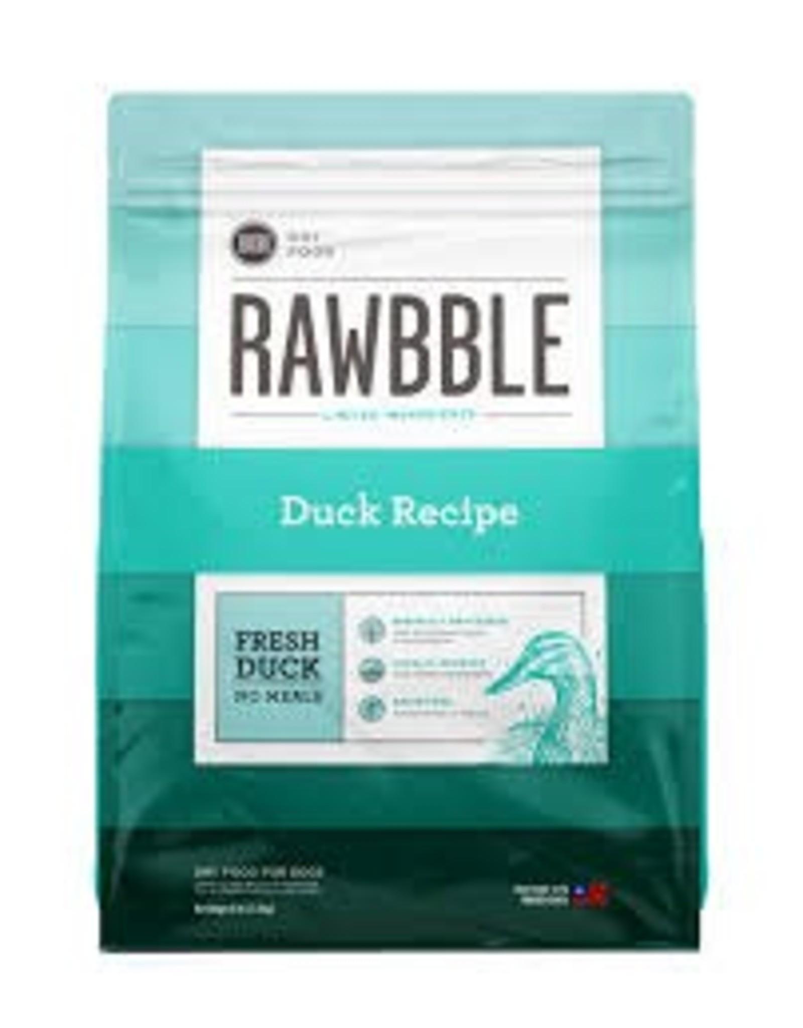 BIXBI & RAWBBLE RAWBBLE DUCK RECIPE 4#