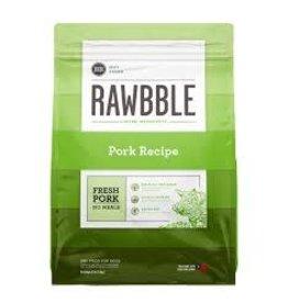 BIXBI RAWBBLE PORK RECIPE 24#