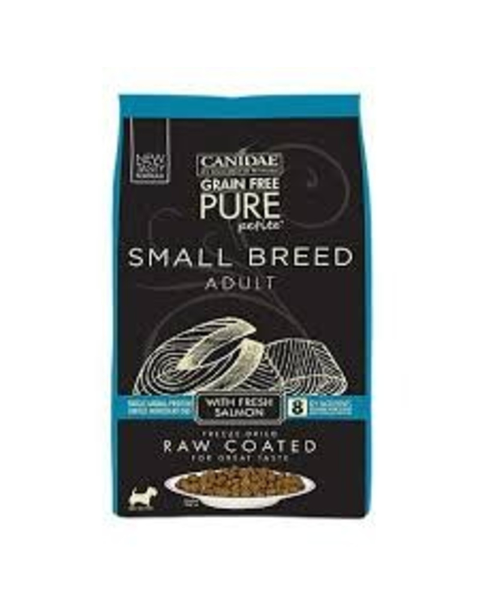 CANIDAE CANIDAE PURE PETITE SMALL BREED ADULT SALMON GRAIN FREE 4#